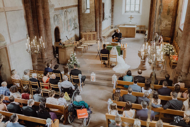 Hochzeitsfotograf Basel Kirche