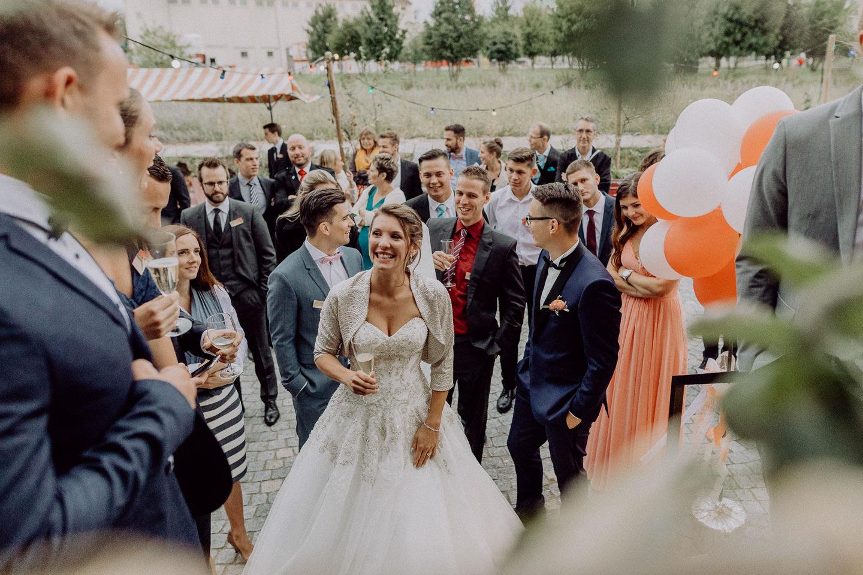 Bahnkantine Basel Hochzeit