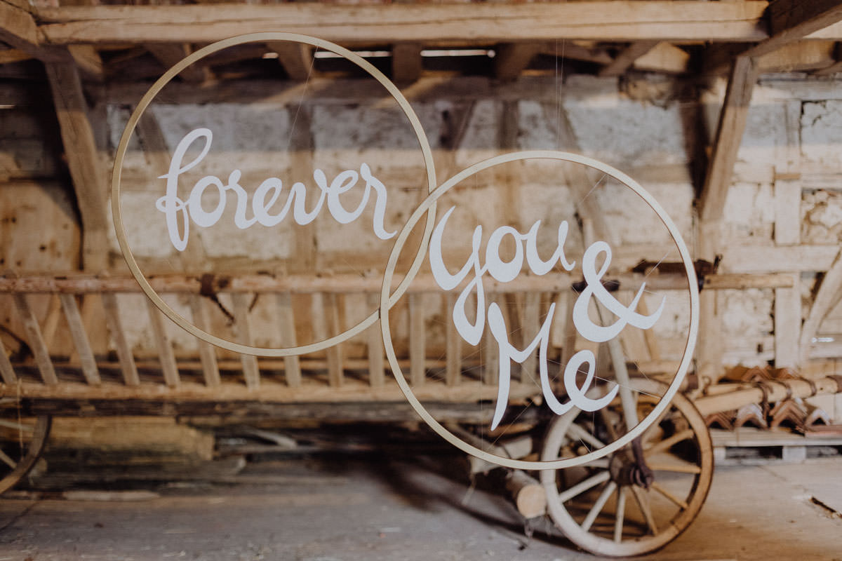 Vintage barns wedding Swabian Alb forever you & me