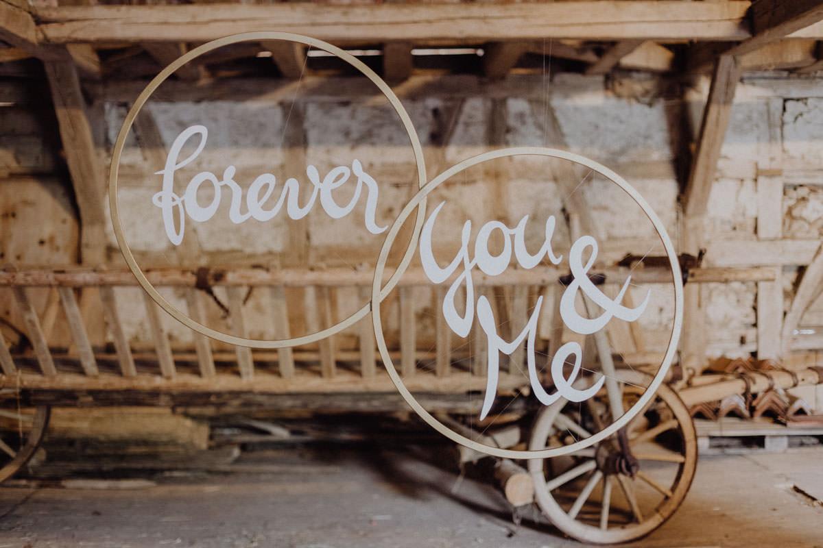 Vintage Scheunen Hochzeit Schwäbische Alb forever you & me