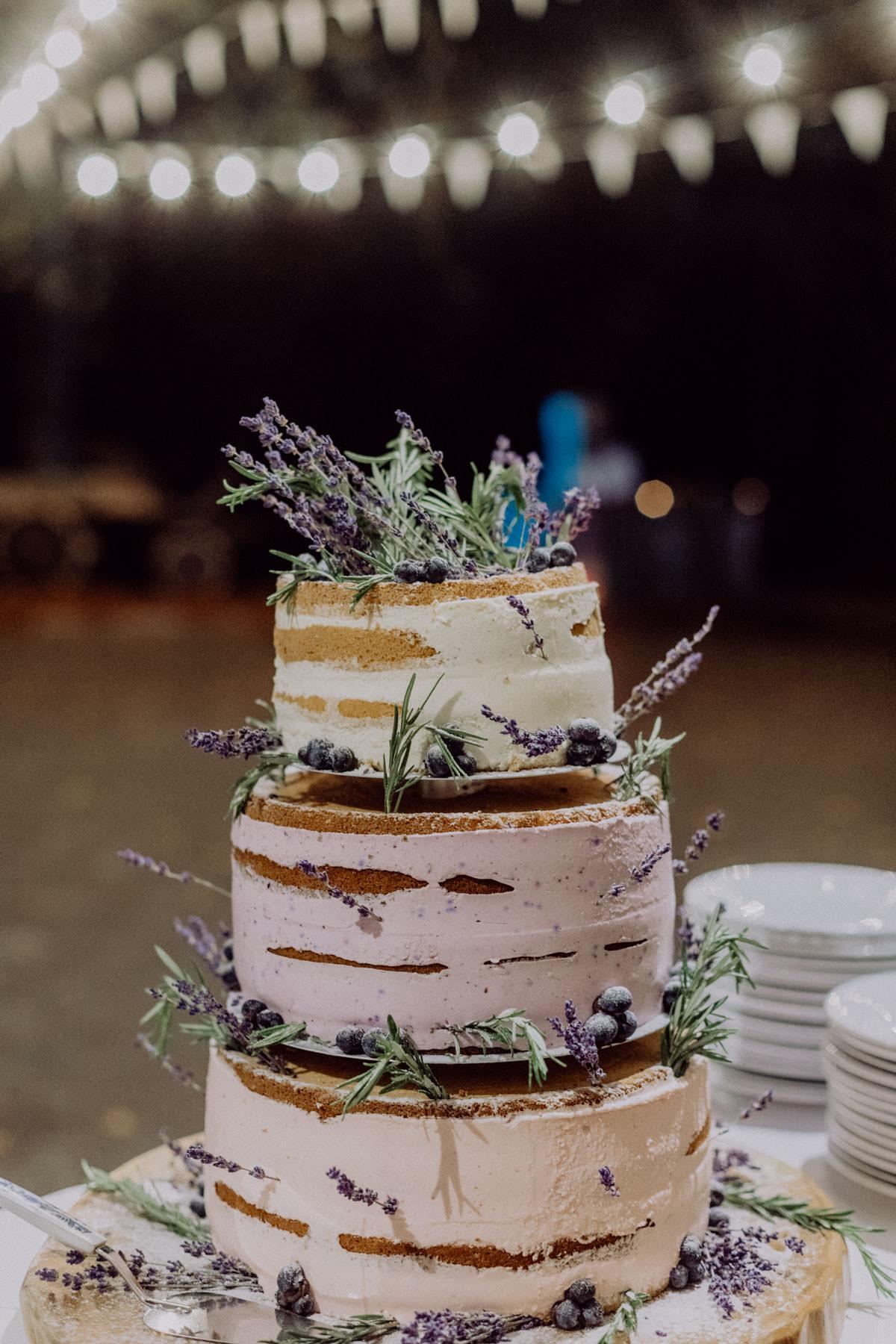 Vintage Scheunen Hochzeit Schwäbische Alb Hochzeitstorte Torte