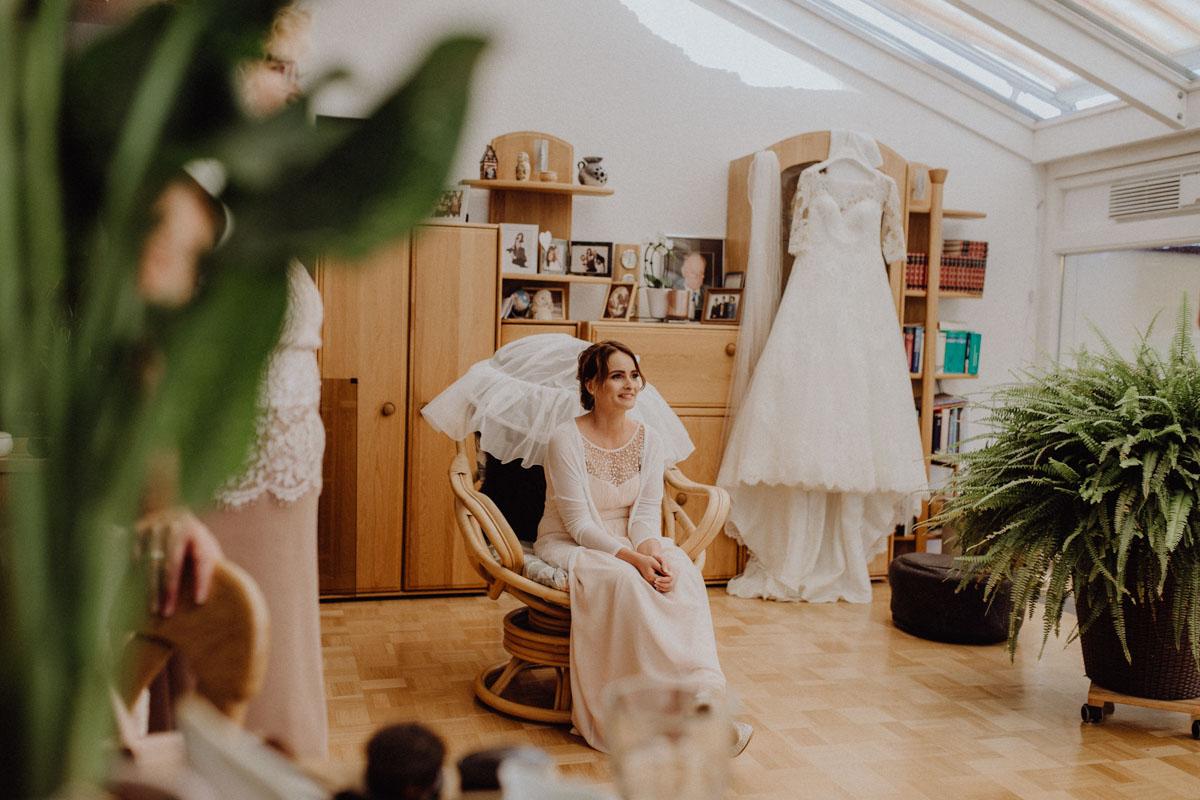 Getting Ready Hochzeitsfotos