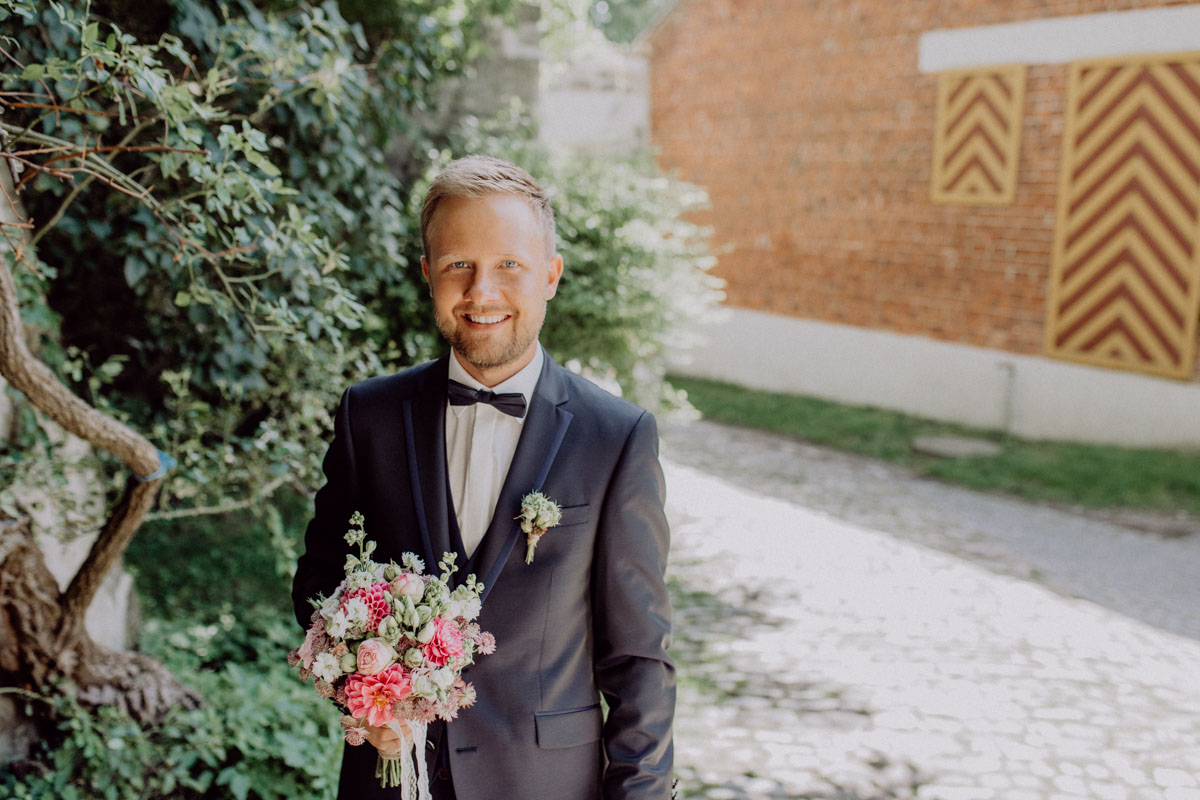 Hochzeitsfotograf Bayern Bräutigam