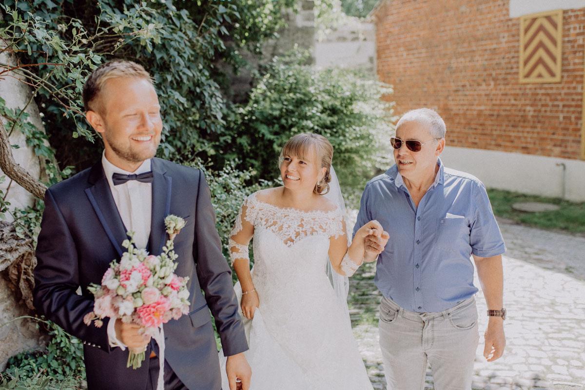 Hochzeitsfotograf Bayern First Look