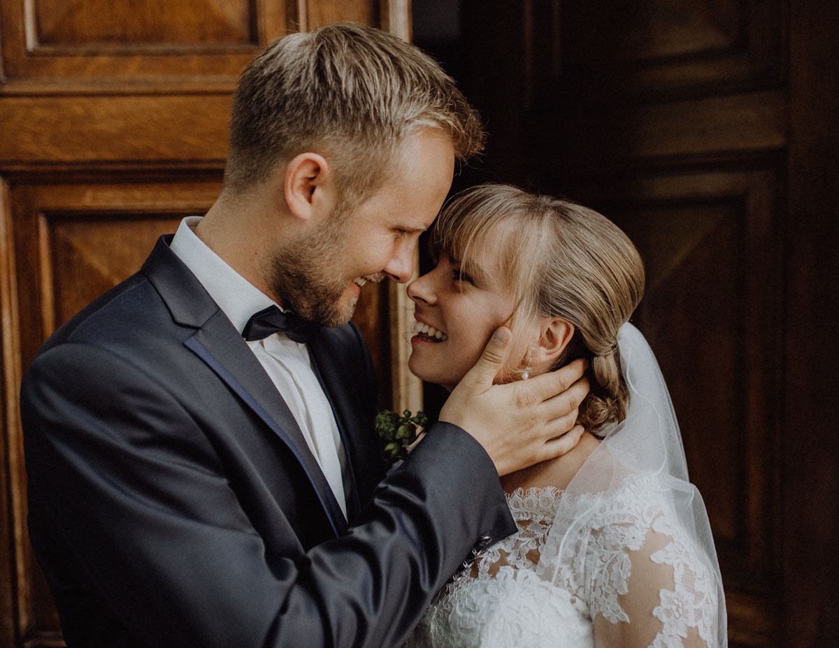 Junges Brautpaar Fotos