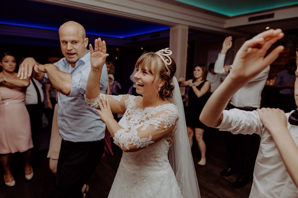 Party Hochzeit Braut Tanzen