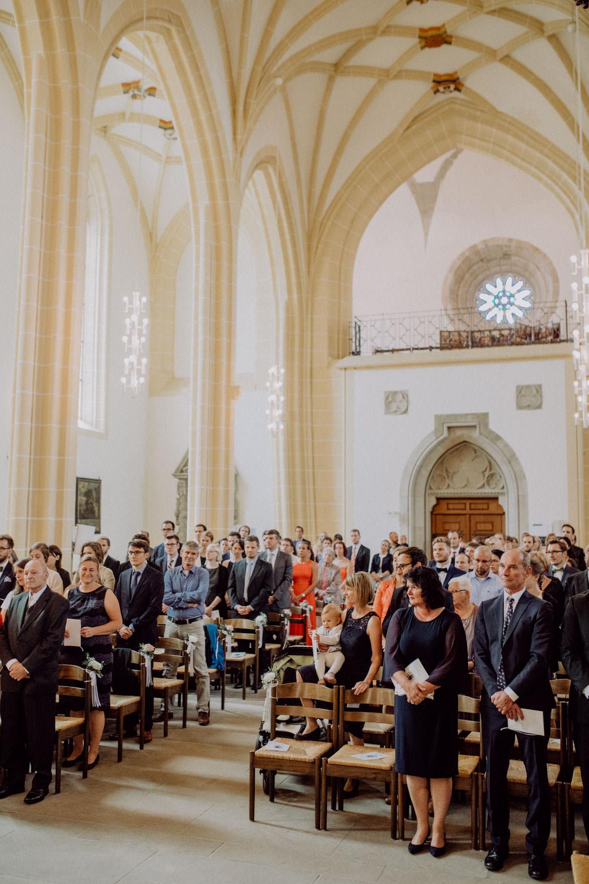 Hochzeitsfotograf Stuttgart Trauung Kirche