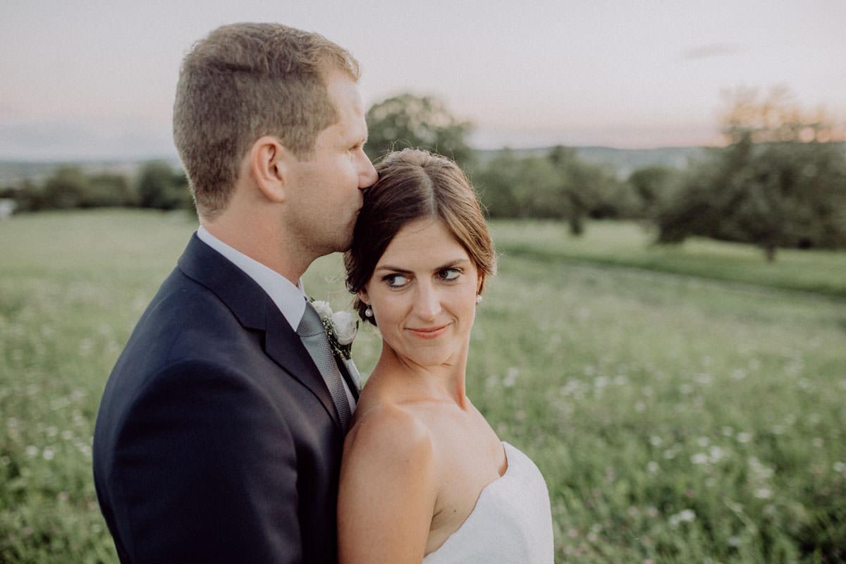 Hochzeitsshooting abends