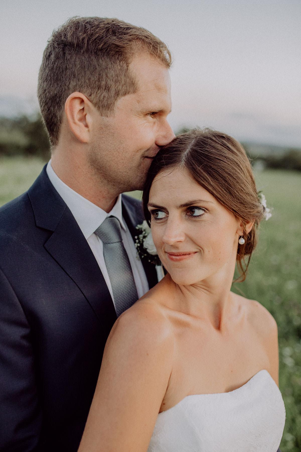 Hochzeitsshooting blaue Stunde