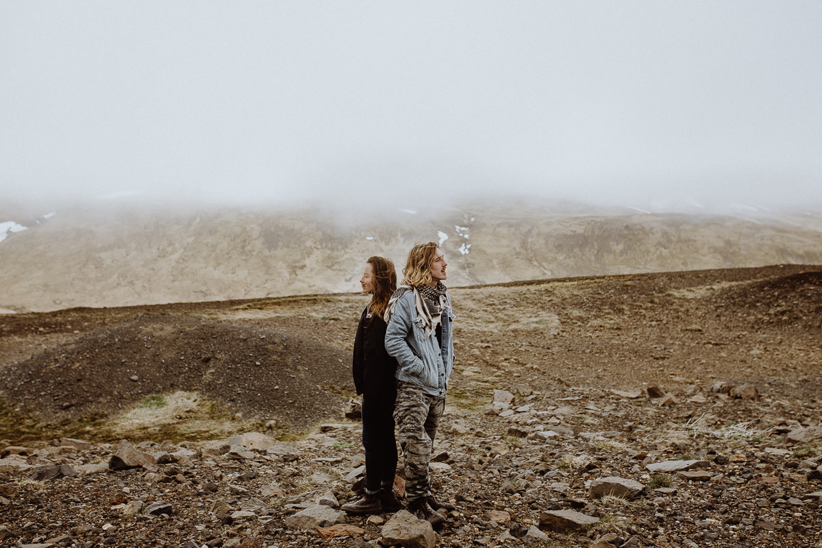Couple Shooting Iceland