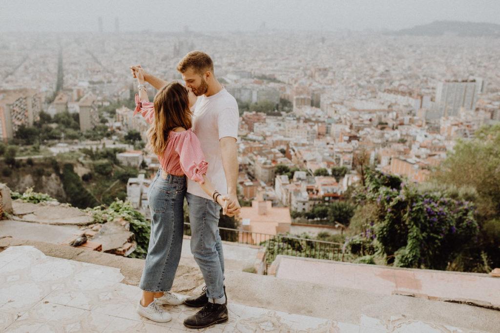 Couple Photos Barcelona