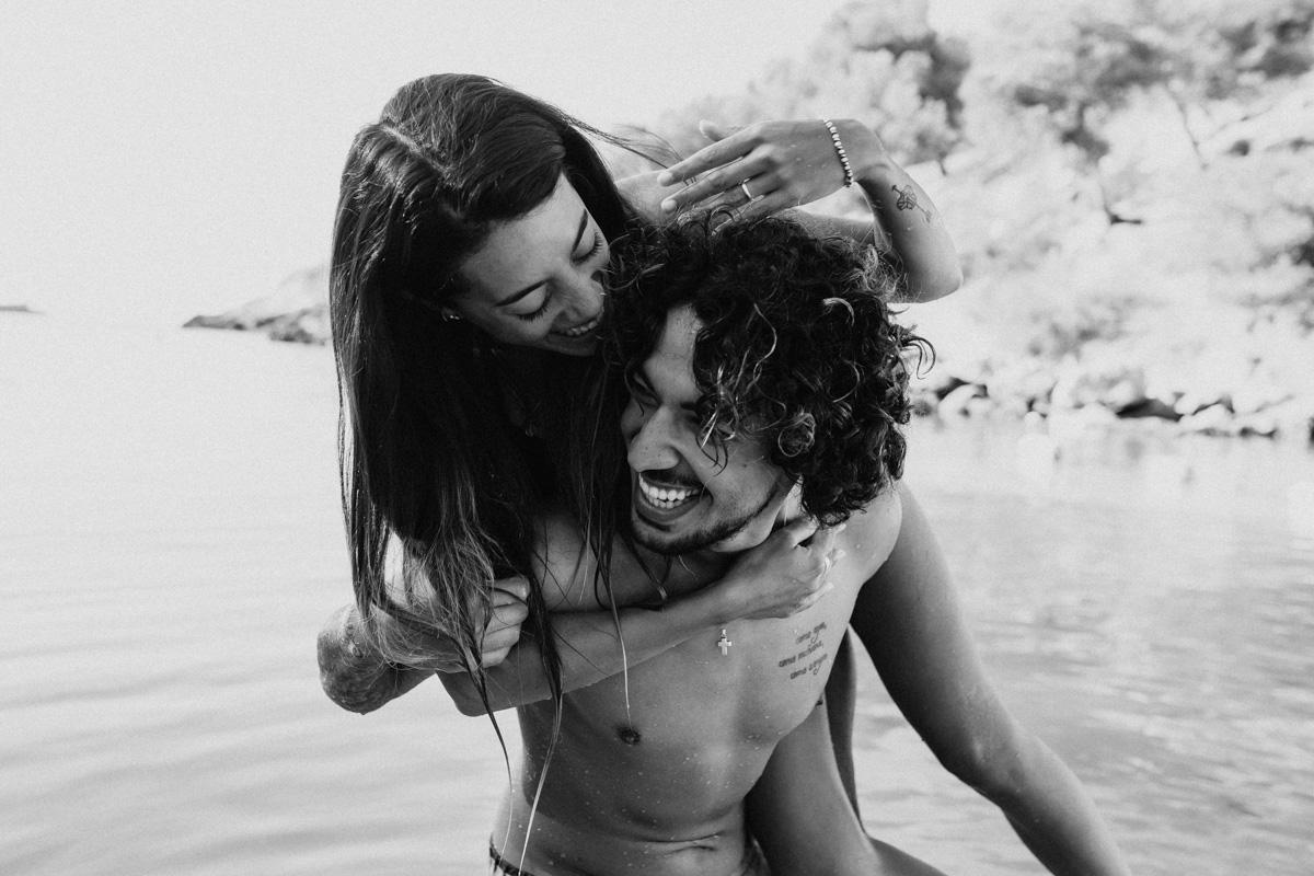 Couple Shoot Mallorca Beach