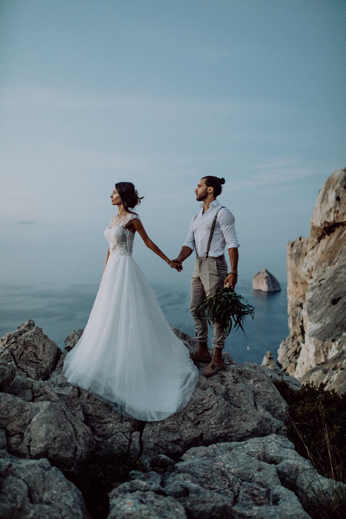after wedding shooting mallorca