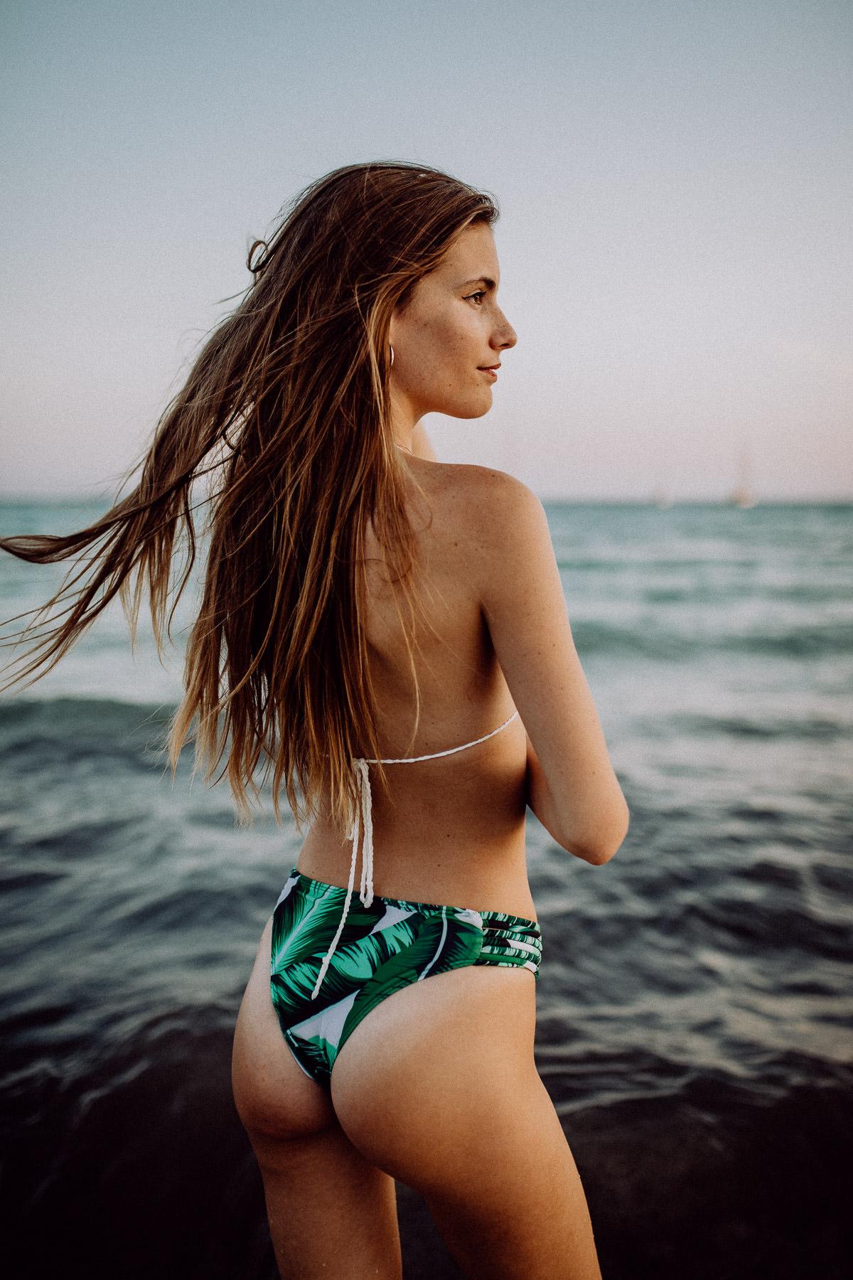 Bikini Shooting Mallorca Strand