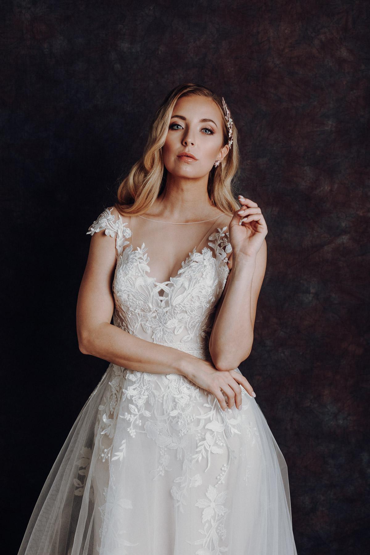 fashion editorial wedding dress