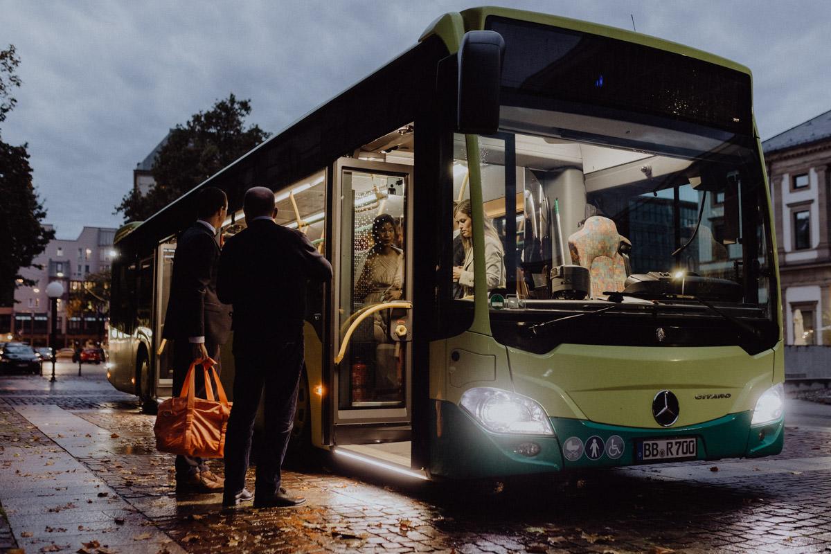 Bus Shuttle Hochzeit